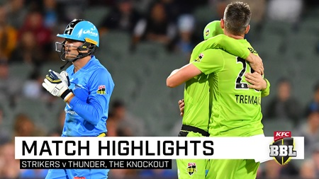 Late Strikers collapse sees the Thunder march on
