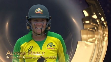 Female ODI Player of the Year 2020: Alyssa Healy