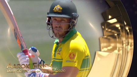 Male ODI Player of the Year 2020: Aaron Finch