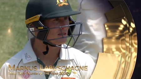 Male Test Player of the Year 2020: Marnus Labuschagne
