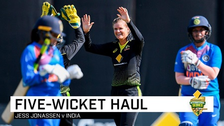 Jonassen causes India collapse with career-best haul