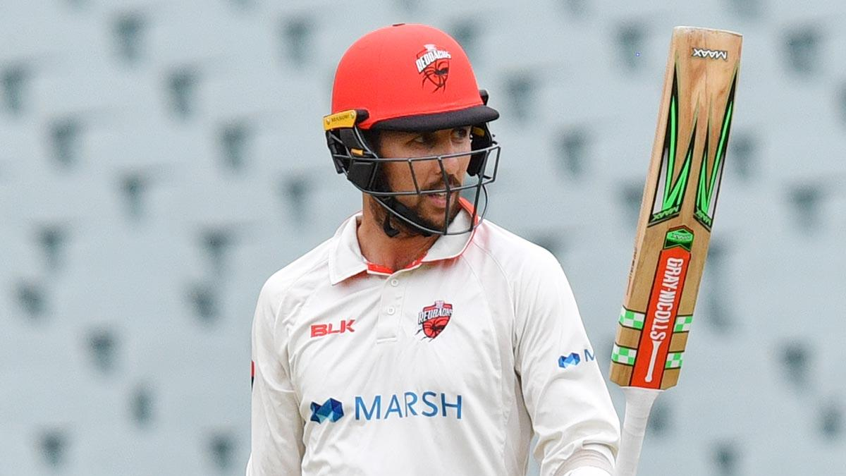 Cooper falls for 99 after late-innings blitz