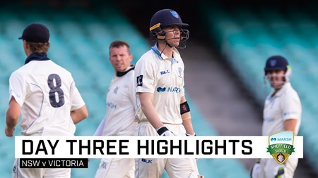 Bold declaration sets up final-day thriller after Maddinson hundred