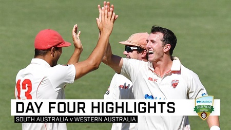 Redbacks make it two in a row after Worrall's five