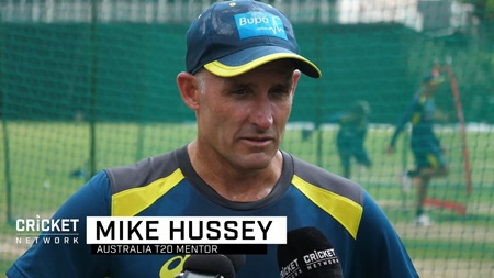Hussey helping to fine tune Australia's middle-order