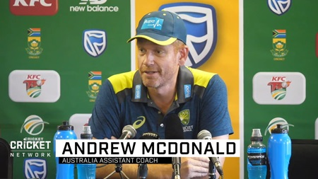 Middle order better for that experience: McDonald