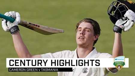 Wonderkid Green posts third ton of Shield season