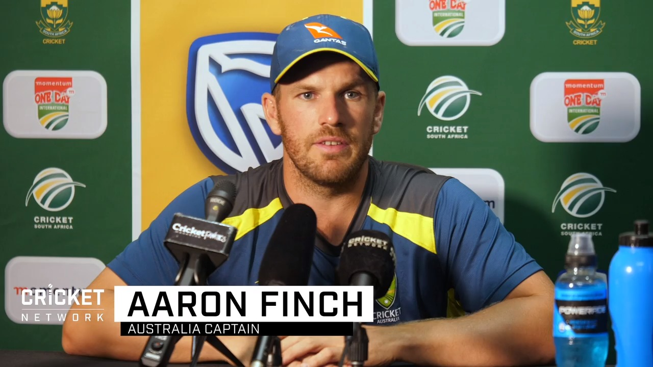 Our ODI record against SA 'something to address': Finch