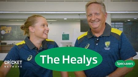 The secrets to wicketkeeping with Ian and Alyssa Healy