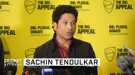 Tendulkar calls on fans to raise funds for Bushfire Bash
