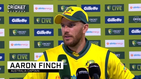 Captain Finch reflects on 'unique' ODI experience
