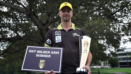 Sams recounts his record-setting BBL campaign