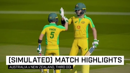 All-time classic encounter in (simulated) ODI decider