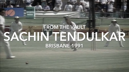 From the Vault: Tendulkar's first innings on Aussie soil