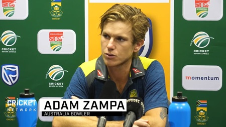 Zampa regrets missed opportunities, impact of dew