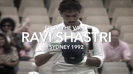 From the Vault: Shastri's Sydney double century