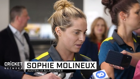 Molineux discusses Aussies' journey to World Cup final