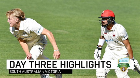 Vics close in on Shield win as Redbacks struggle