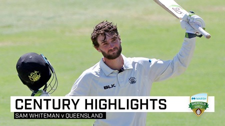 Whiteman's gritty ton keeps WA in the contest
