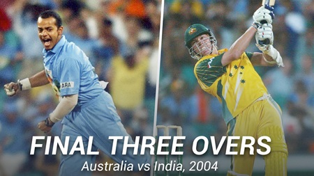 From the Vault: Thrilling final three overs of ODI classic