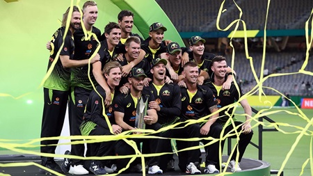 Australia claim top spot in Test and T20 rankings