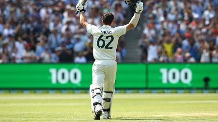 Head reflects on breakthrough Boxing Day Test ton