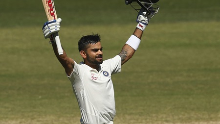 Top 20 in 2020: Kohli posts second ton of 2014 Adelaide Test