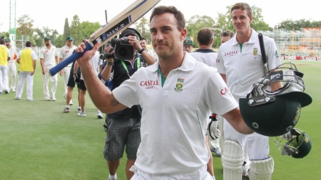 The long road: Du Plessis remembers his ton on debut