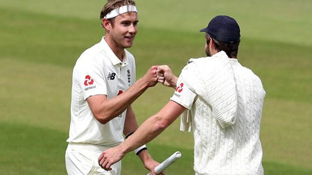 History man Broad and five-star Woakes seal England win