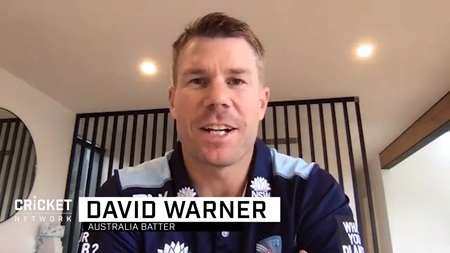 Warner discusses India Tests, Broad rematch