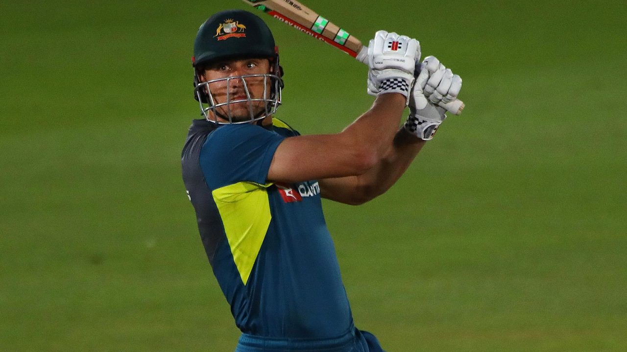 Watch all 17 sixes from Australia's T20 run fest