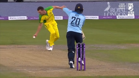 Hazlewood, Labuschagne take clutch catches in tight win