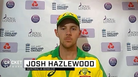 'Right up there for me': Hazlewood