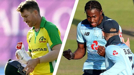 Warner finds new foe in battle of England