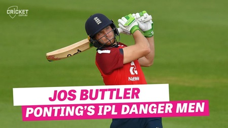 """A very, very complete T20 batsman"": Ponting on Buttler"