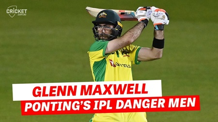 'He's going to be one of the star players': Ponting on Maxwell