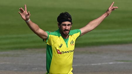 Double trouble! Starc strikes with match's first two balls