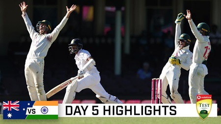 Brave India pull off the great escape at the SCG