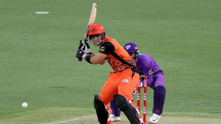 Livingstone makes Hurricanes pay for first-ball drop