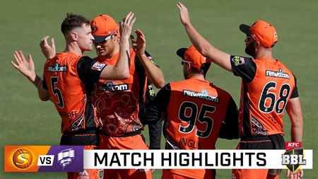 Red-hot Scorchers thump Hobart in lopsided result