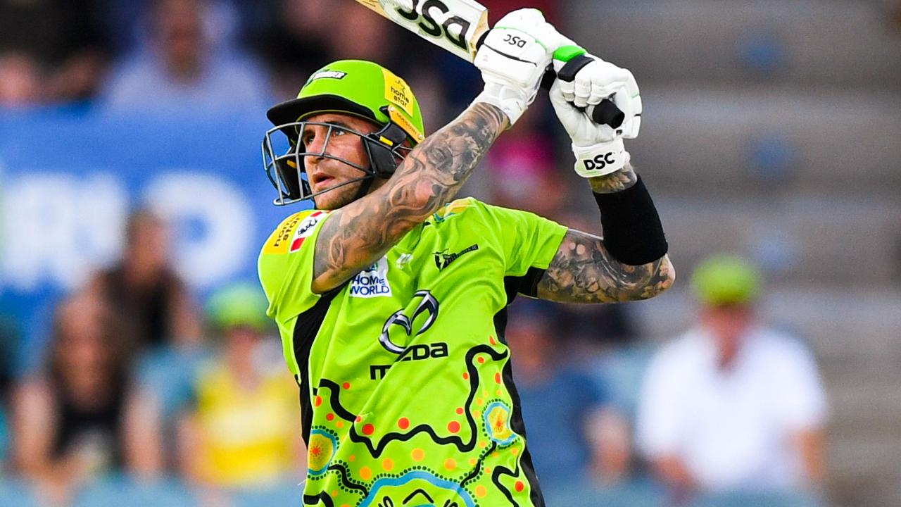 Hales hammers rapid half-century to lift Thunder