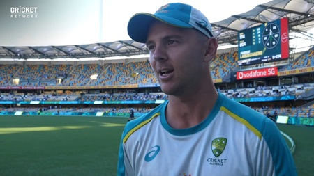 'Just got our noses ahead': Hazlewood