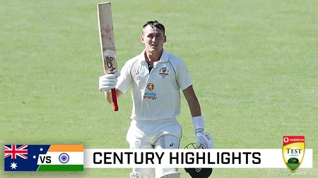 Labuschagne lights up Gabba with delightful 108