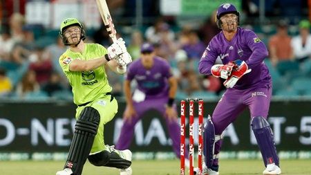 Billings boosts Thunder with speedy half-century