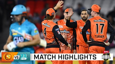 Super Scorchers cool the Heat with dominant display
