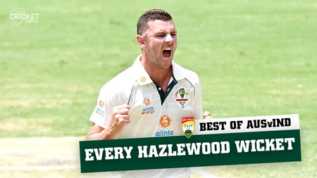 Best of the Border-Gavaskar: Every Josh Hazlewood wicket