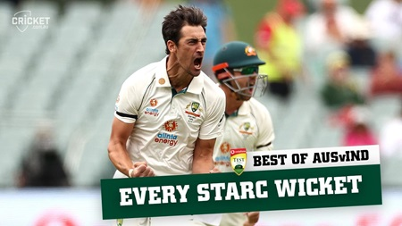 Best of the Border-Gavaskar: Every Mitchell Starc wicket