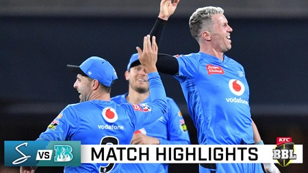 Strikers trounce Heat on back of Carey heroics