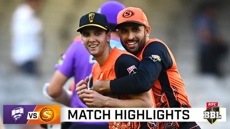 All-round Richardson the star as Scorchers down Canes