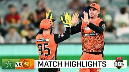 Scorchers soar to top of the table with victory over Stars